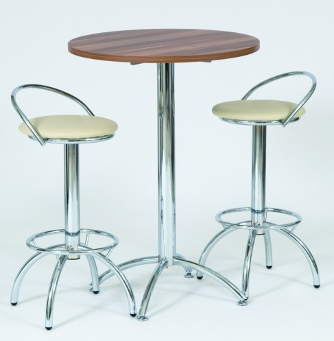 Mara High Bar Table With Two Lara Stools