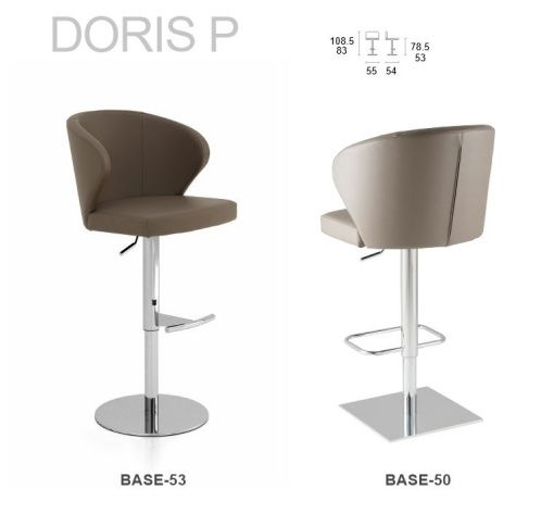 Doris P Adjustable Bar Stool