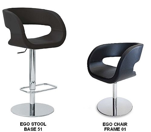 Ego Bar Stools & Matching Chairs