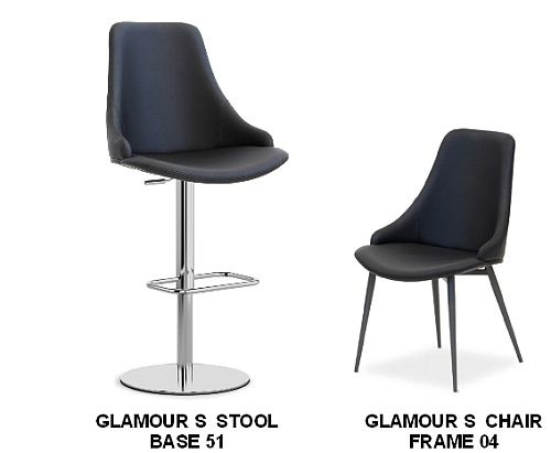 Glamour S Bar Stools and <br>Matching Chairs.