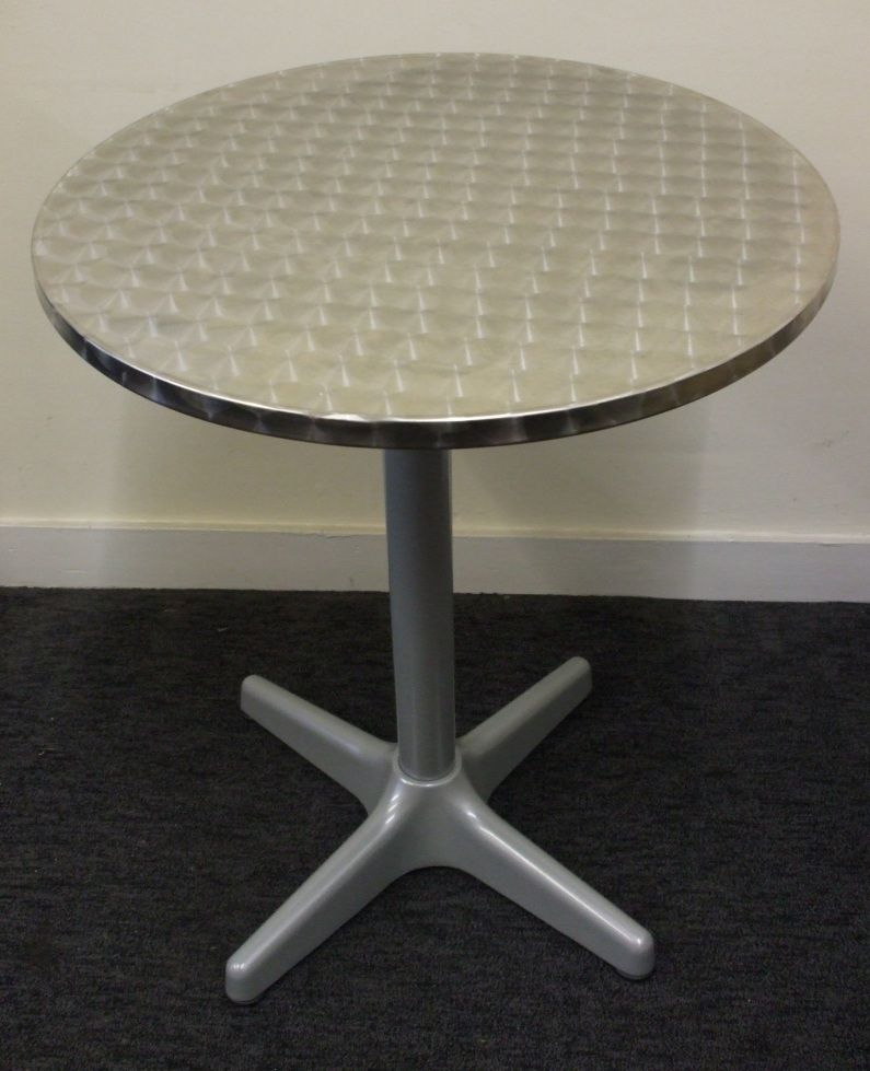 Maria Table with Stainless Steel Table Top