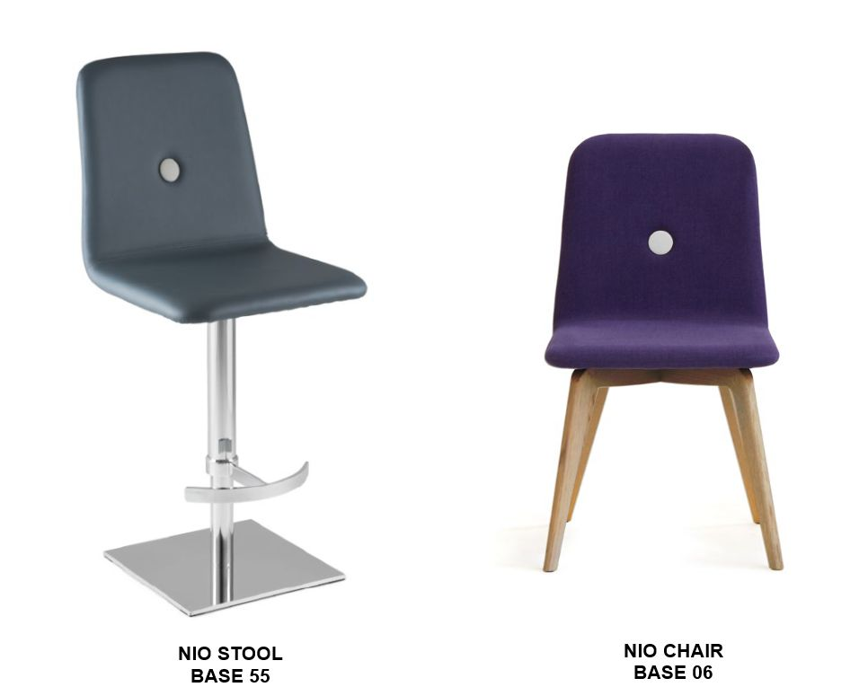 Nio Stool and Chair