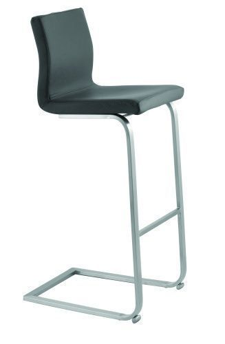 Quadra 1 Stool - Cantilever, Skid Base.