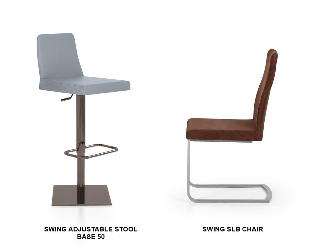 Swing Adjustable Stool and Chair
