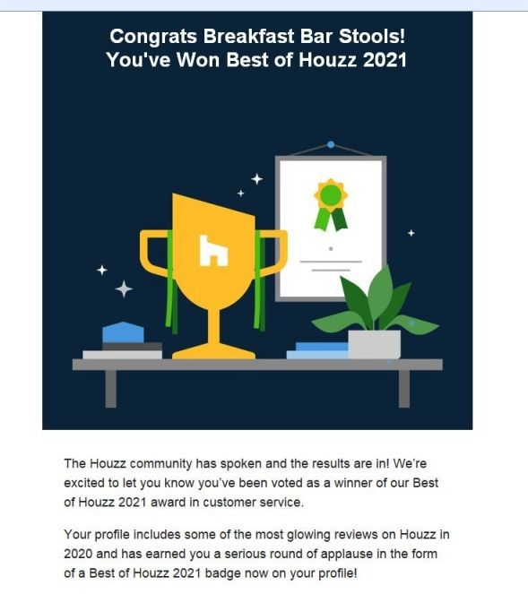 Best of Houzz for Service - 2021